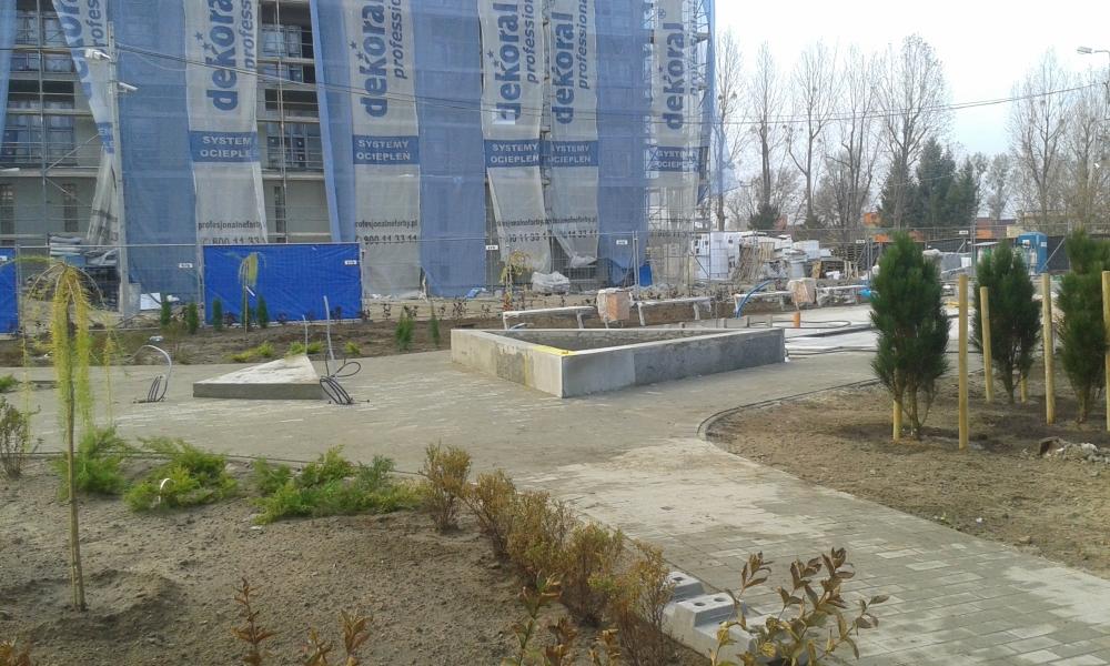 Nowy plac w budowie