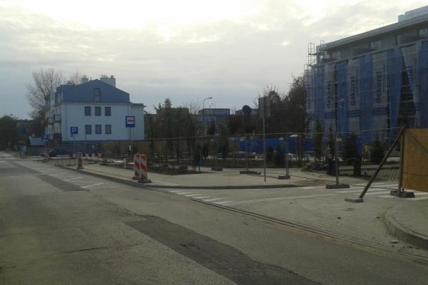 Nowy plac w Pruszkowie