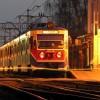 Napad w nocnym pociągu WKD