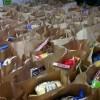 Harcerze organizują paczki dla biednych