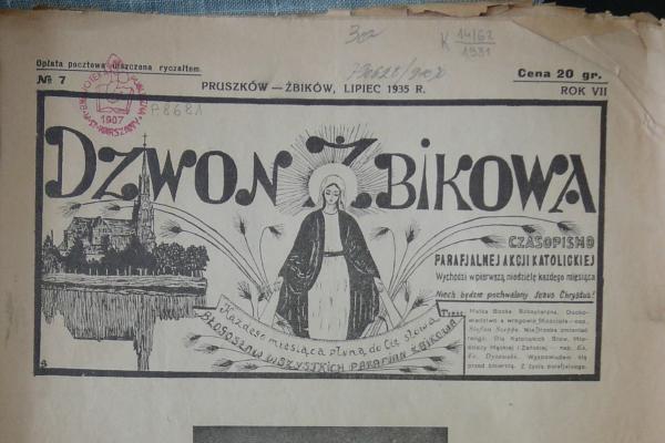 """Archiwalny """"Dzwon Żbikowa"""" o Bożym Ciele"""