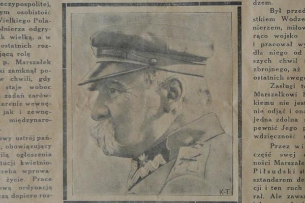 Śmierć Piłsudskiego w dawnej prasie lokalnej
