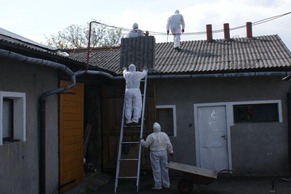 Brwinów chce się pozbyć azbestu