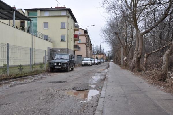 Kontrapas rowerowy po remoncie ulicy