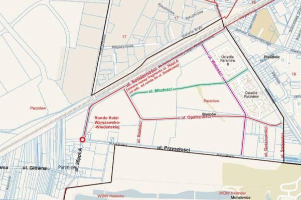 Parzniew zyska nowe ulice